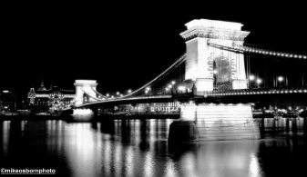 The Chain Bridge from Buda - the city's most famous bridge